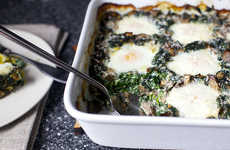 Hearty Breakfast Lasagnas - The Smitten Kitchen Baked Eggs Recipe is a Morning Meal
