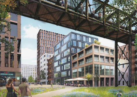 Factory-Integrated Urban Architecture - MVRDV is Set to Refurbish the