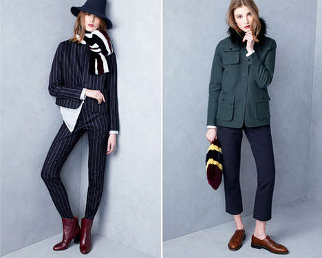 Dramatically Layered Fall Fashion - The Latest Kule Lookbook Boasts Understated and Effortless Looks
