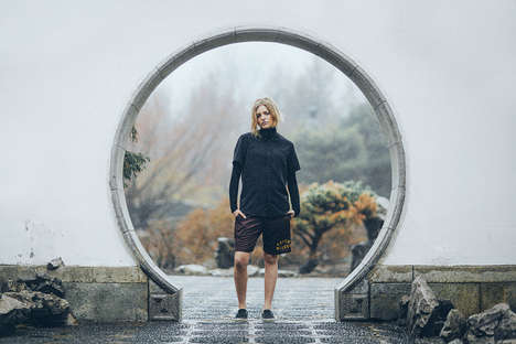 Moody Urban Lookbooks - The Raised By Wolves Lookbook Offers Non-Floral Options for Spring