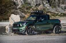 Miniature Off-Road Autos - The MINI Paceman Adventure is a Tiny but Powerful Pickup Truck Concept