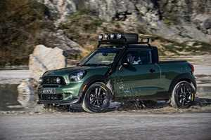 The MINI Paceman Adventure is a Tiny but Powerful Pickup Truck Concept