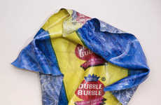 Giant Crumpled Paper Sculptures - Candy Wrappers Etc. by Paul Rousso is a Sweet Treat Series