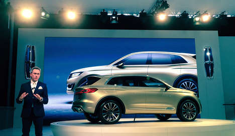 Chinese Luxury Car Launches - The Lincoln Launch in China Will Open More Doors for the Luxury Brand