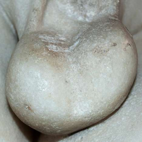 Statue Testicle Photography - Marbles by Ingrid Berthon-Moine Focuses on Ancient Anatomy