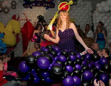 Helium Prom Dresses - Get Your 2014 Prom Party Popping with These Incredible Balloon Dresses