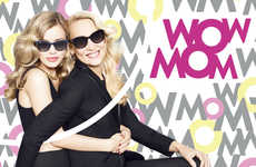 Fond Mother-Daughter Campaigns - The 'WOW MOM' Mother's Day Campaign Celebrates Your Birth-Giver
