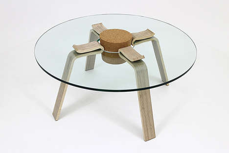 cork stopper table
