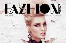 Modern Renaissance Editorials - The FASHIONTREND Australia Photoshoot Stars Emilia Skuza