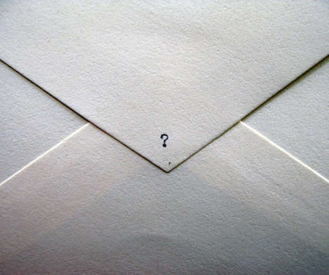Mysterious Letter Subscriptions - The Mystery Envelope Program Sends Unknown Surprises in the Mail