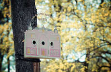 Movie-Themed Bird Hotels - The Tiny Grand Budapest Hotel Project Gives Lucky Birds a Charming Home