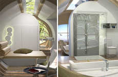 Modular Pop-Up Cabins