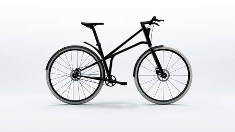 Ultimate Urban Bicycles - The Cylo One Bike is a Minimal Design with Built-In Lights