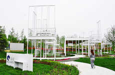 Giant Chair-Surrounded Gardens