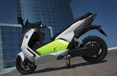Eco Electric Motorbikes - The BMW C Evolution is a Stylish, High-Performance Electric Bike