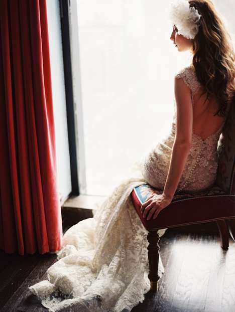 Vintage Bridal Couture - The Enchanted Atelier Spring Lookbook is Stunning and Dreamy