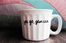 Idolized Character Mugs - The Glen Coco Mug is a Hilarious Tribute to a Phantom Character