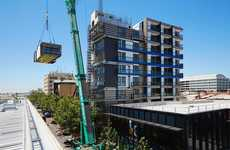 Speedy Prefab Building Systems - Using a Prefab System, the One9 Building Went Up in Just Five Days
