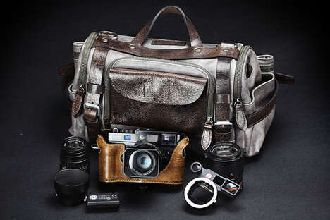 Water-Resistant Camera Cases - This DSLR Camera Bag by Wontancraft is Shock and Water-Proof