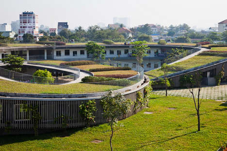 Sustainability-Promoting Schools - Vo Trong Nghia Architects Complete the Farming Kindergarten