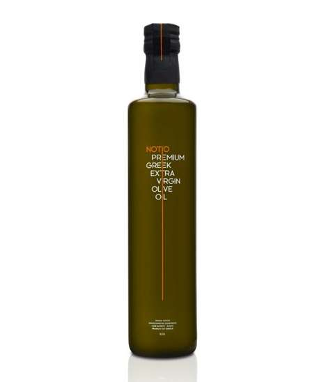 Dripped Olive Oil Branding - Notio Olive Oil is Proud of its Southern Greek Routes