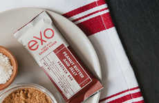 Cricket Flour Protein Bars - Exo's Protein Bars Aim to Make Eating Insects Seem More Acceptable
