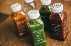 Categorized Juice Branding - Roots & Bulbs Divides Nutrients into Informative Categories