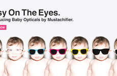 Hipster Baby Eyewear - The Baby Opticals New Range of Baby Sunglasses is Sweet and Snazzy