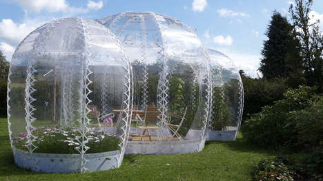 Bubble Garden Houses - Simon Hjermind Jensen Designed Micro-Climatized Garden Houses