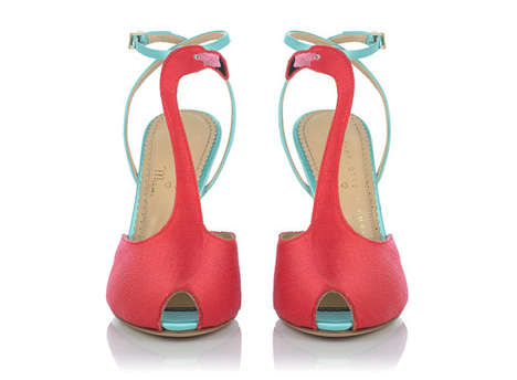 Flamingo-Inspired Fashions - Charlotte Olympia Miami has Opened and Debuted its Capsule Collection