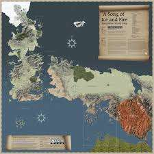 Virtual Fantasy Maps - This Interactive Game of Thrones Map Lets You Experience GofT Virtually
