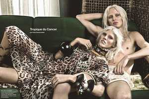 Numero Magazine May 2014 Features Models Who Look Like Twins