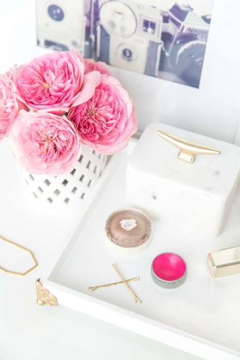 DIY Vanity Trays - Sugar and Cloth Explains How to Make This Homes Creation