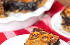 Pretzel Brownie Pies - Erica's Sweet Tooth Concocts a Calorie-Filled Dessert