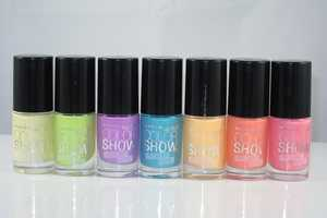 The Maybelline Color Show Bleached Neon Line is Limited Edition