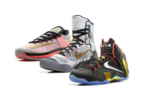 Gold Standard Basketball Shoes - The Nike Elite Gold Collection is Inspired by Elite NBA Players