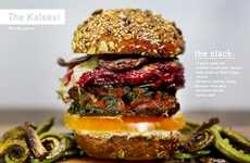 Fantasy TV Show Burgers - Featuring Kale Patties, the Kaleesi Burger is Game of Thrones Themed
