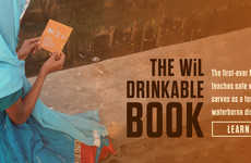 The Drinkable Book is an Educational Tool That Offers Clean Drinking Water