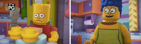 Iconic Building Block Cartoons - The LEGO Episode of The Simpsons is the Best Thing Ever