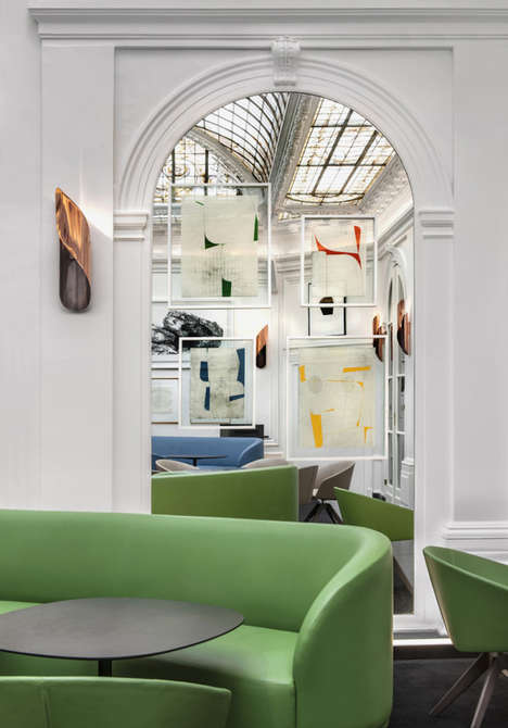 Abstract Art Accommodations - Hotel Vernet by Francois Champsaur is Rife with Colors & Shapes