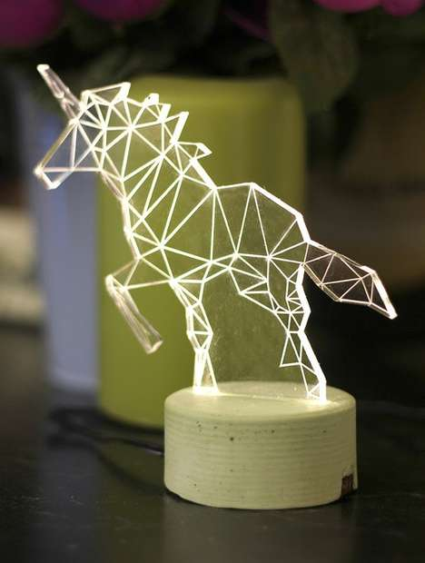 Whimsical Animal Lamps - Illuminite
