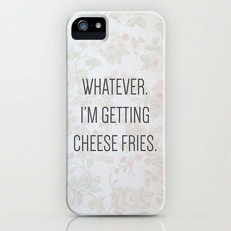 Chick Flick Phone Cases - This Mean Girls Phone Case Features a Delicious Quote