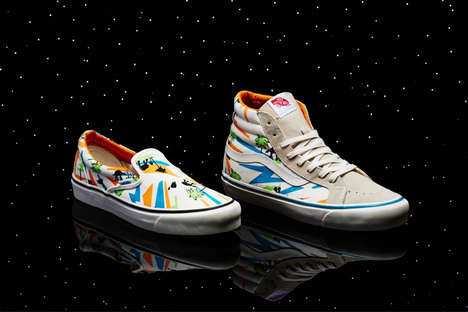 Galactic Film Sneakers - The Vans Vault 2014 Collection is a Joint Force with Star Wars