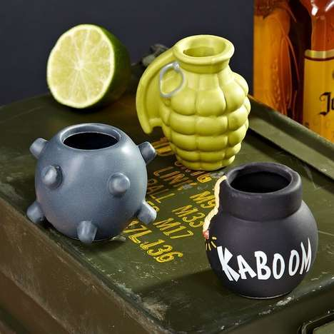 Mind-Blowing Shooters - These Bomb Shot Glasses Are So Awesome They