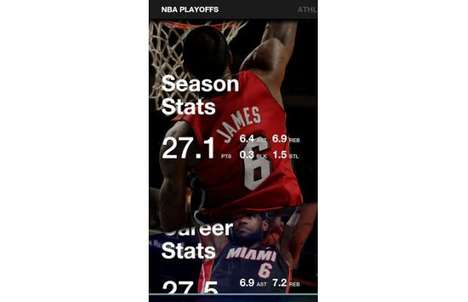 Basketball Star Apps - The LeBron James App Keeps You Up-to-Date on the Basketball Star