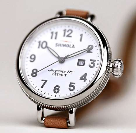 Quality American-Built Goods - Shinola's 'Hello Detroit' Captures the Hard-Working Spirit of Motown