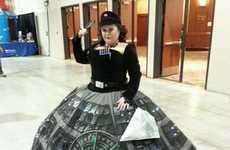 Rotund Sci-Fi Dresses