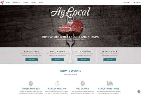 Meat Subscription Boxes - AgLocal Delivers Pasture-Raised Meats from Family Farms to Homes