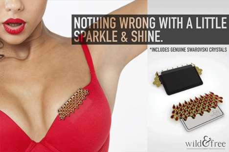 Chic Feminine Wallets - The Wallette is a Bra Purse that Blends Style, Comfort and Functionality