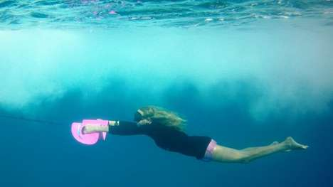 Underwater Gliding Boards - The Nautboard Lets You Swim Like a Dolphin Underwater
